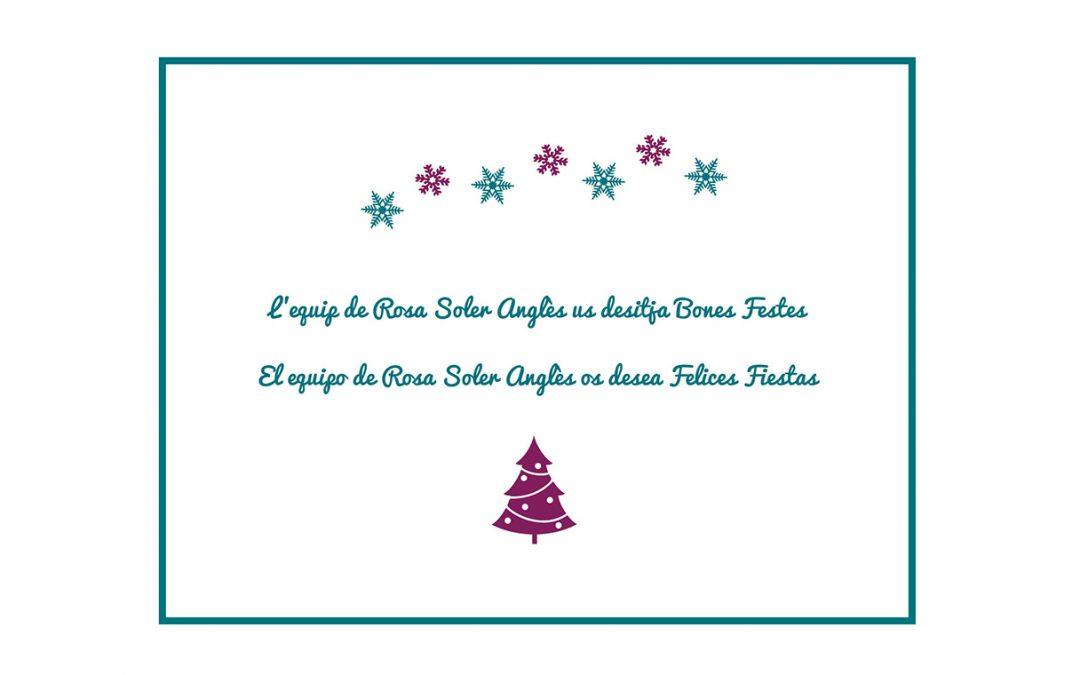 Te deseamos una felices fiestas y próspero año 2018